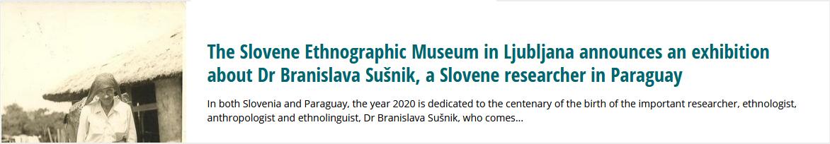 Photography of Branislava Sušnik