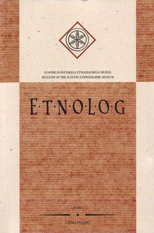 Naslovnica Etnologa 2015