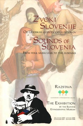 Front page of the book Sounds of Slovenia