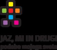 Logotip razstave Jaz, mi in drugi