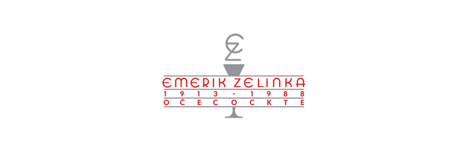 Logotip razstave Emerik Zelinka - oče Cockte