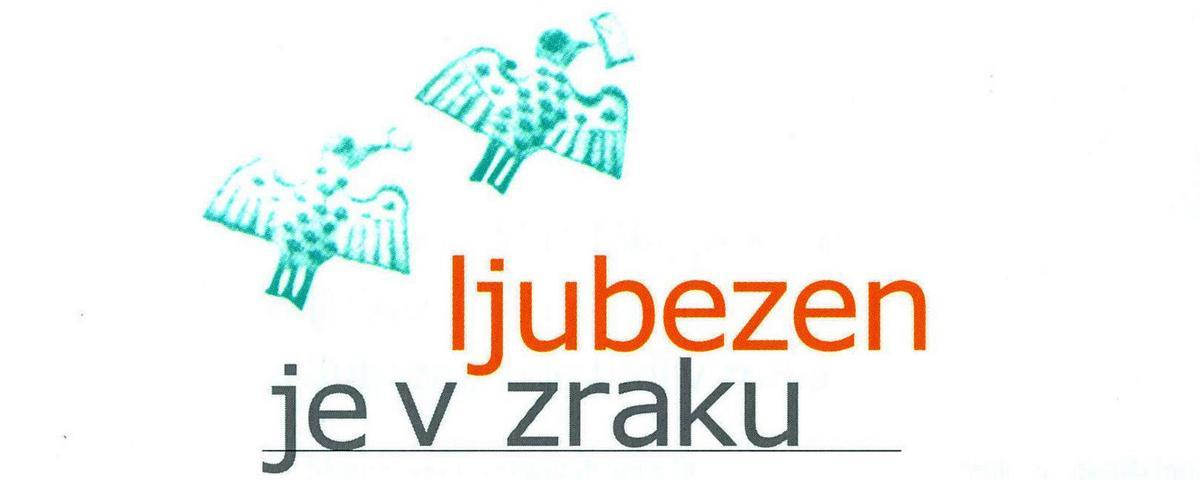 Logotip razstave Ljubezen je v zraku