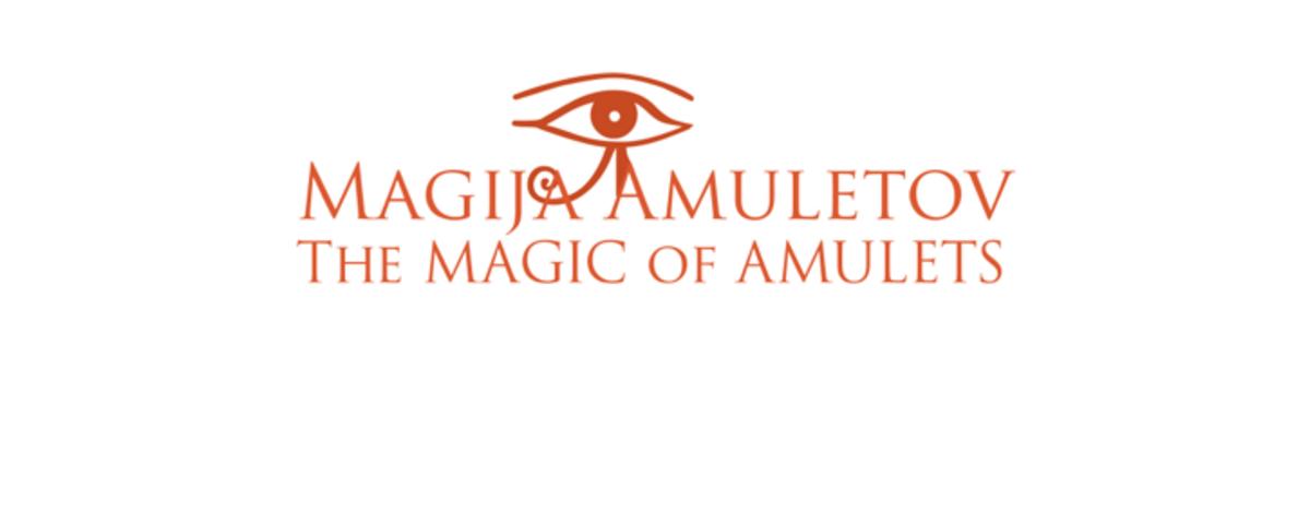 Logotip razstave Magija amuletov