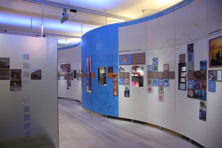 Muzejska postavitev na razdelku Moj narod - moja država