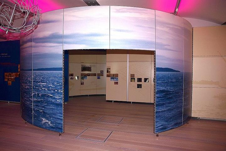 Muzejska postavitev na razdelku Moja ali tuja drugačnost - širni svet