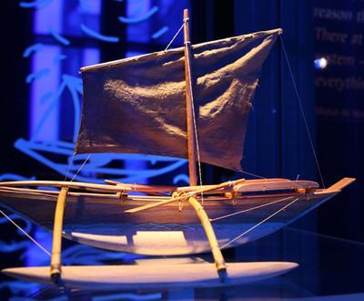 Replika čolna iz Fidžija