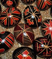 Hungarian decorated eggs from Prekmurje. Photo: KD Petofi Sandor