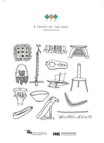Front page of the book A touch of the past